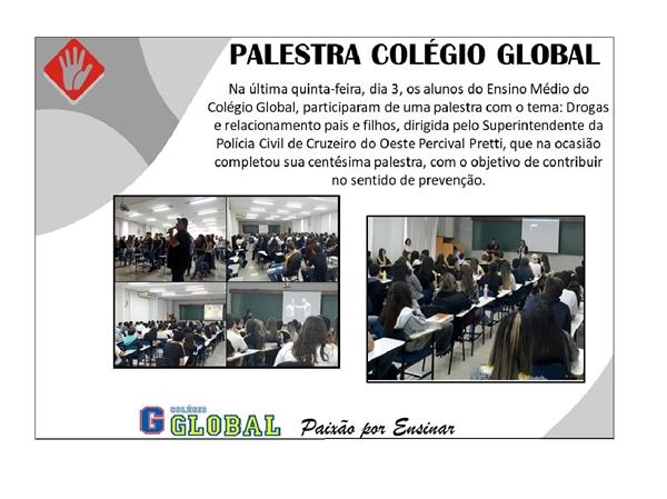 Palestra Colégio Global